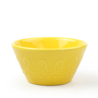 Personalized Daily Use Big Color Serving Bowl Ceramic with Good Price