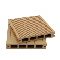 Wood- Plastic Composite Decking Ecological For Pool Or Garden