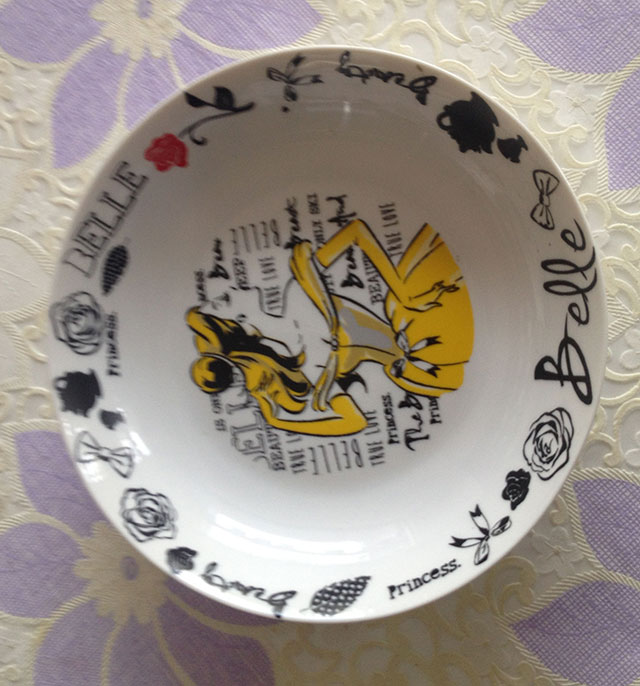 porcelain flat dinner plate ceramic salad plate