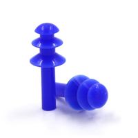 Mushroom Head Type Silicone Waterproof Swimming Earplugs Reusable