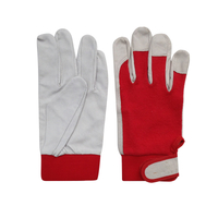 Sheepskin Stretch Cloth Protective Gloves