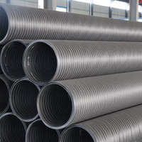 HDPE Hollow Winding Structure Wall Pipe