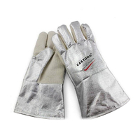 300 Degree Aluminum Foil High Temperature Resistant Gloves