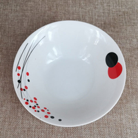 8 inch ceramic serving salad bowl