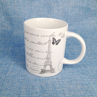 Shandong Linyi cheap white ceramic mug