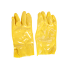 Labor Protection PVC Vulcanized Chemical Resistant Gloves