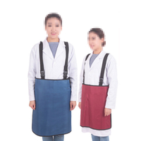 Lead clothing protective skirt intervention particle surgery X-ray